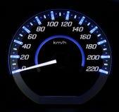 Autosnelheidsmeter Stock Afbeelding