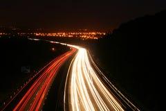 Autosnelweg Royalty-vrije Stock Foto