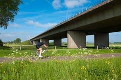 Autosnelweg stock foto