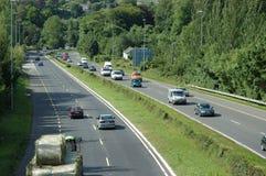 Autosnelweg stock afbeeldingen