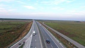 Autosnelweg van hommel wordt gezien die stock video
