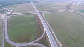 Autosnelweg van hommel wordt gezien die stock videobeelden