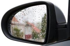 Autospiegel Stock Afbeeldingen