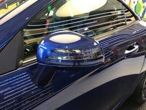 Autospiegel Stock Afbeelding