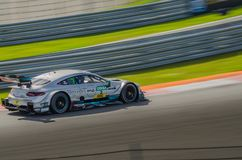 Autosport DTM MoscowRaceWay 2017 AudiTeam Stock Afbeeldingen