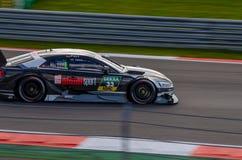 Autosport DTM MoscowRaceWay 2017 AudiTeam Royalty-vrije Stock Afbeeldingen