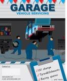 Autostationsservice Lizenzfreie Stockbilder