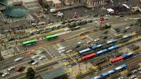 Autostazione del traffico cittadino di Seoul archivi video