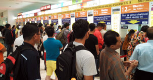 Autostazione di TBS in Kuala Lumpur immagini stock libere da diritti