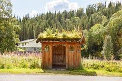 Autostazione in Norvegia Immagine Stock Libera da Diritti