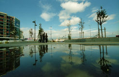 Autostazione in Stambul Immagini Stock
