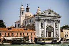 Autostazione a Venezia Immagine Stock