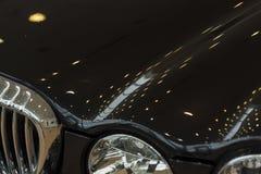 Autostoßdämpfer Stockfoto