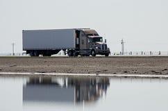 autostradą ciężarówka usa kalifornii Obrazy Royalty Free