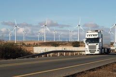 autostradą ciężarówka usa kalifornii Fotografia Stock