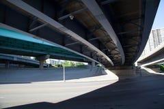 Autostrad flyovers w cincinatti Zdjęcia Royalty Free
