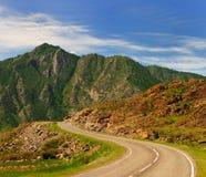 autostrad góry Obrazy Royalty Free