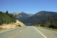 autostrad góry Obraz Royalty Free