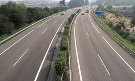 Autostrada Fotografie Stock