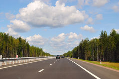 Autostrada. Obrazy Royalty Free
