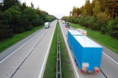 autostrada Zdjęcie Royalty Free