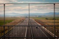 Autostrada Royalty-vrije Stock Afbeelding