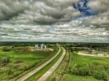 Autostrada Gdzieś zdjęcia stock