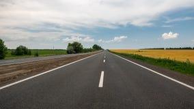 Autostrada iść horyzont zdjęcia royalty free