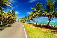 Autostrada i wybrzeże obrazy stock