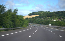 Autostrada inglese Immagine Stock Libera da Diritti
