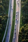 autostrada logistyczne Obrazy Royalty Free