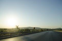 Autostrada M1 Pakistan zdjęcie royalty free