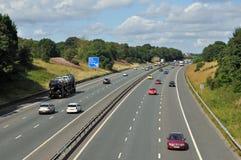 Autostrada M61 immagine stock