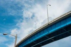 Autostrada międzystanowa wiadukt obrazy stock