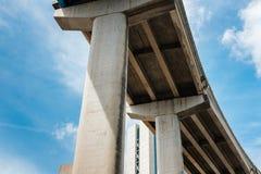 Autostrada międzystanowa wiadukt zdjęcia royalty free
