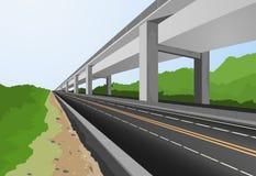 Autostrada miasto Zdjęcie Stock