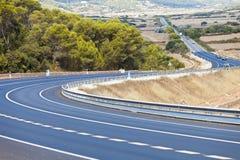 Autostrada Minorca zdjęcia stock