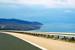 Autostrada morzem Fotografia Stock