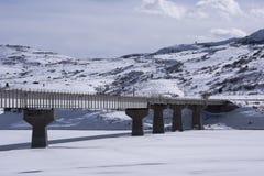 Autostrada most nad Błękitnym mesa rezerwuarem zdjęcie royalty free