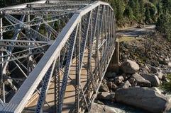 Autostrada most przy Tobin Bliźniaczymi mostami zdjęcie stock