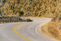 Autostrada 1 na wybrzeże pacyfiku, Kalifornia Fotografia Stock