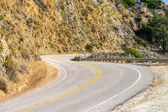 Autostrada 1 na wybrzeże pacyfiku, Kalifornia Zdjęcie Royalty Free
