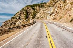 Autostrada 1 na wybrzeże pacyfiku, Kalifornia Zdjęcia Royalty Free