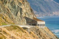 Autostrada 1 na wybrzeże pacyfiku, Kalifornia, usa Zdjęcia Stock