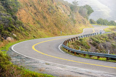 Autostrada 1 na wybrzeże pacyfiku, usa Fotografia Stock