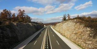 autostrada nowożytna Zdjęcie Royalty Free