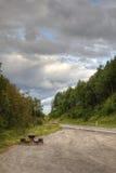 Autostrada odpoczynku miejsce zdjęcie stock