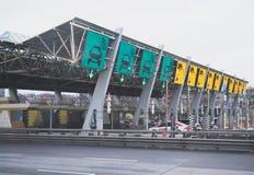 Autostrada Płatna obraz royalty free