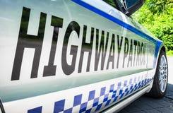 Autostrada patrol Zdjęcie Royalty Free