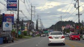 Autostrada Phuket wyspa zdjęcie wideo